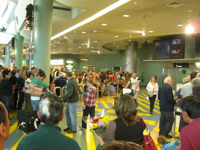 空港の賑わい1