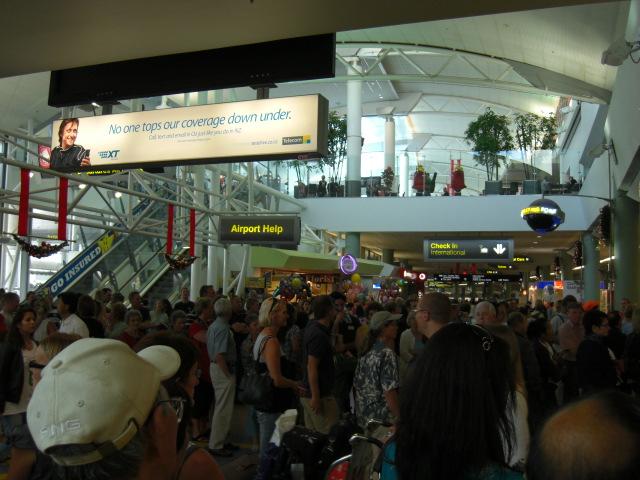 空港の賑わい2