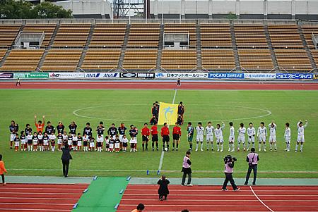 2009JFL後期 TDKSC対佐川印刷01