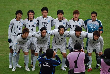 2009JFL後期 TDKSC対佐川印刷02