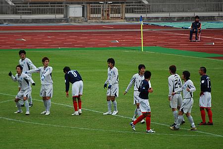 2009JFL後期 TDKSC対佐川印刷10