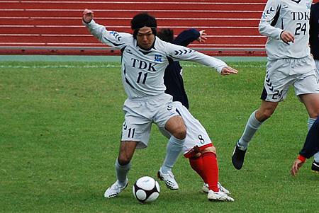 2009JFL後期 TDKSC対佐川印刷08