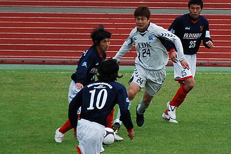 2009JFL後期 TDKSC対佐川印刷07