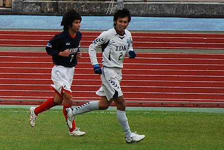 2009JFL後期 TDKSC対佐川印刷11
