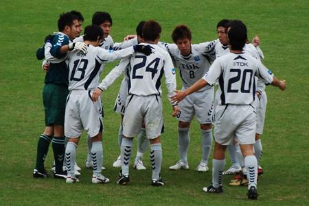 2009JFL後期 TDKSC対佐川印刷15