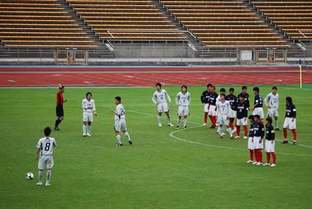 2009JFL後期 TDKSC対佐川印刷16