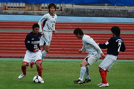 2009JFL後期 TDKSC対佐川印刷19