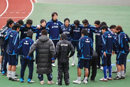 2009JFL後期 TDKSC対佐川印刷17