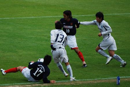 2009JFL後期 TDKSC対佐川印刷21