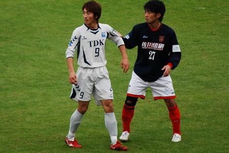 2009JFL後期 TDKSC対佐川印刷23
