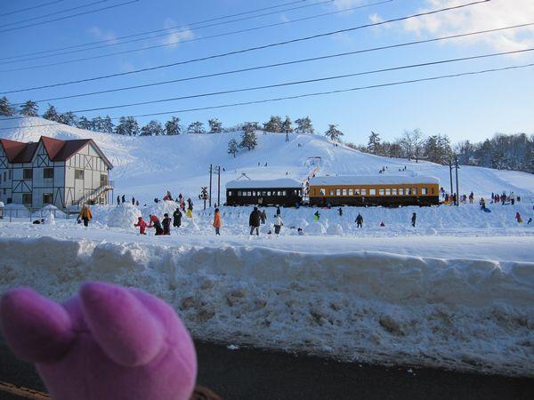冬鳥越スキー場
