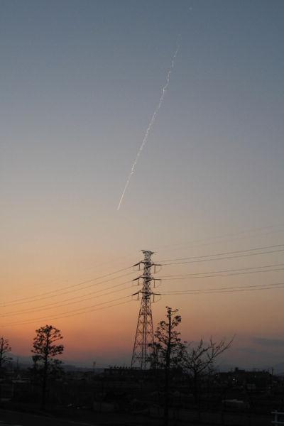 飛行機雲 025