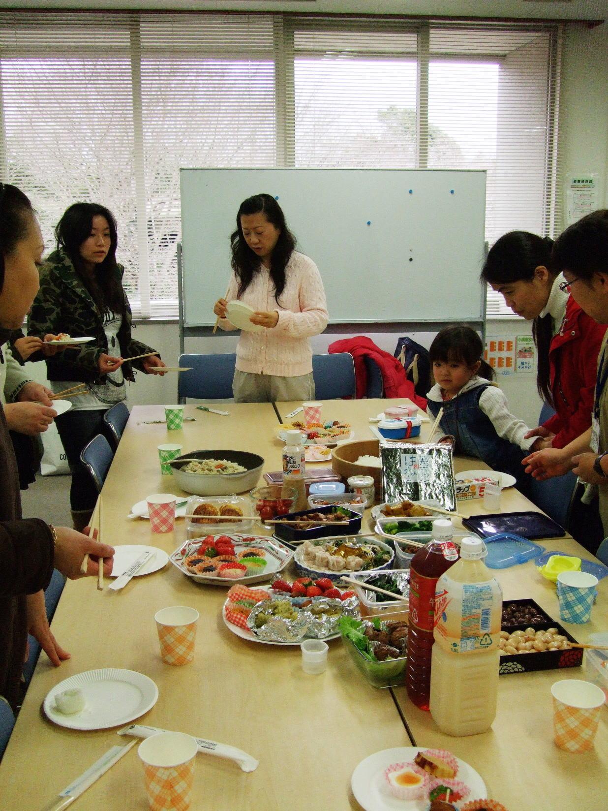 お弁当教室①