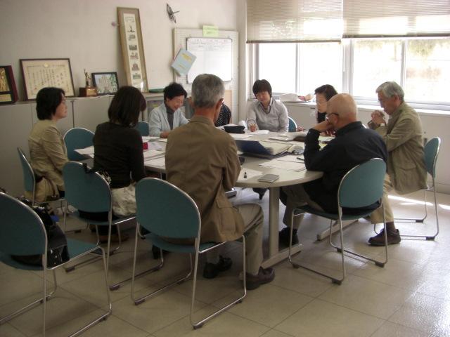 日本語教室GR.会議