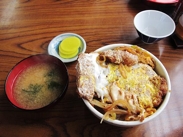 こたき食堂かつ丼1