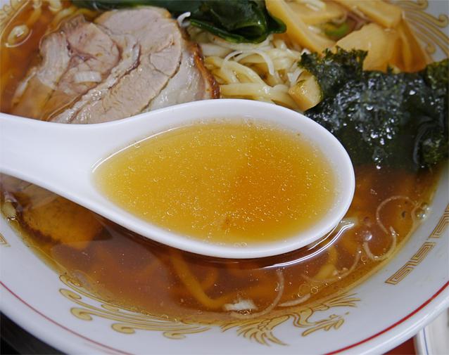 孝司醤油スープ