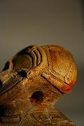 後田遺跡の土偶頭部