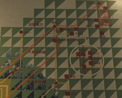 北陸送電系統図