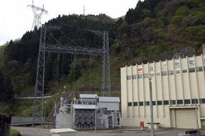 音沢発電所