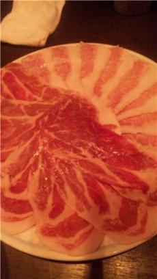 ホルモン堂鍋豚