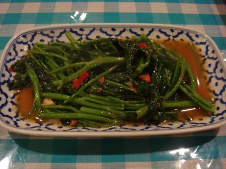 タイ 空芯菜