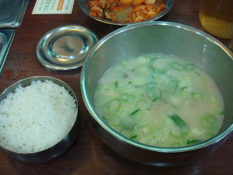 韓国ソルロンタン