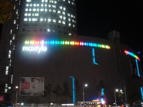 韓国イルミ東大門