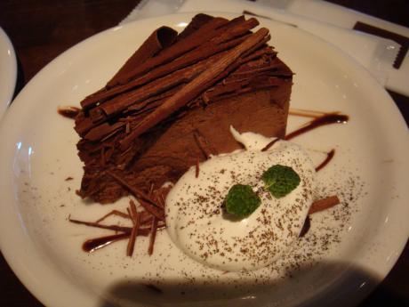 シャルボン1101チョコケーキ