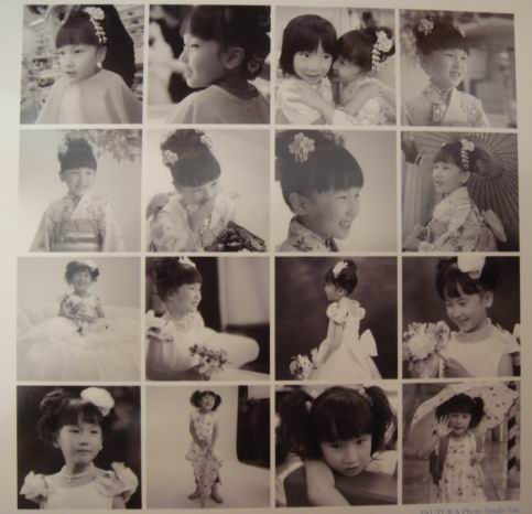 七五三 アルバム 最後のページ