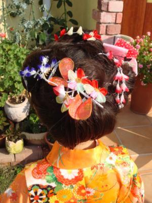 2009.11.23 七五三⑤ 髪