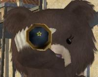 望遠鏡クマ.