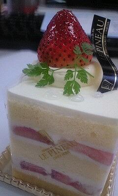 いただきものケーキ