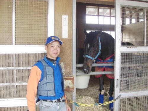 (4)ダノンシャンティ・高野調教師