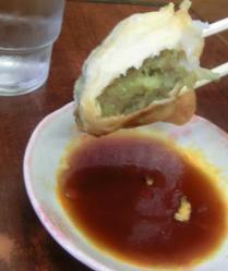 餃子野菜ギッシリ