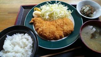 チキンフライ定食