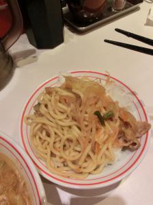 蒙古丼ブラン