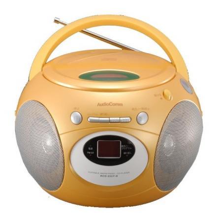 クリックで拡大 CDラジオ みかん
