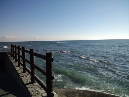 駿河湾方面