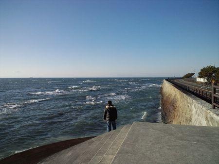 遠州灘方面