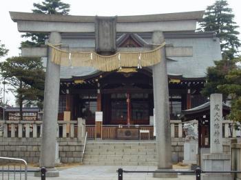 クリックで拡大 尾久八幡神社