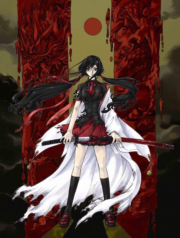 Anime Character Design Tropes : 脳とアニメーション-アニメ「blood c」感想&評価