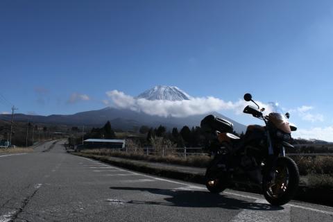 富士高原道路より