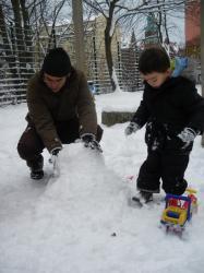 munieco de nieve 1