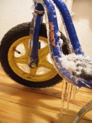 bici congelada