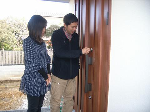 0066瓜生邸鍵開通式