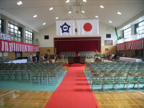 0079卒業式会場