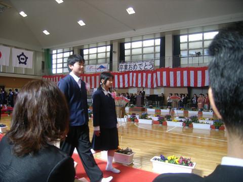 0084卒業生入場
