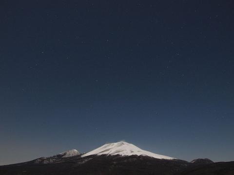 浅間山100128