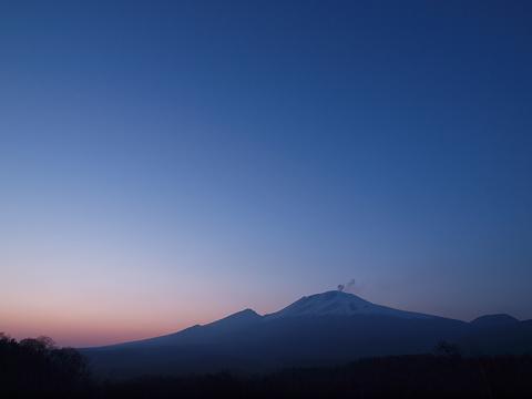 浅間山100223