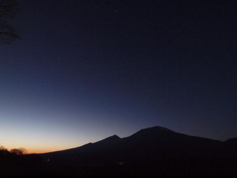 浅間山101201
